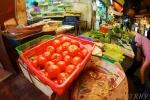 Fish-eye tomatoes.